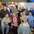 Image from the Derby and Notts Music Hall Association Luch in Totley